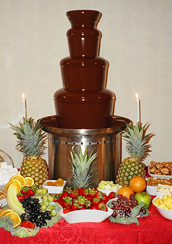 Chocolate Fountain Of Dreams - Vermont Chocolate fountain, weddings ...